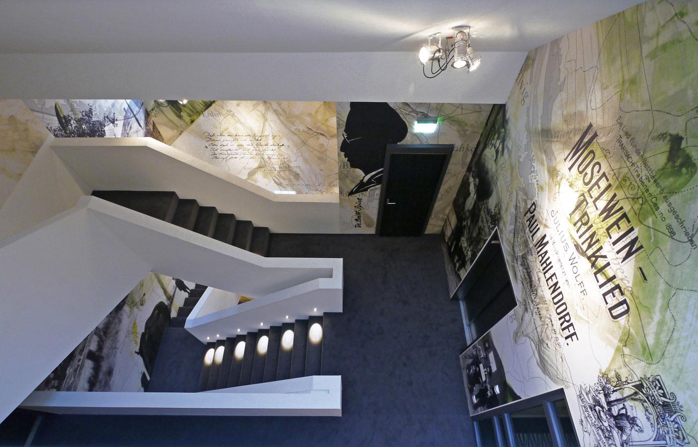 Moselschlösschen Treppenhaus